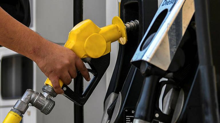 Petrol prices up 2 sen, diesel 6 sen