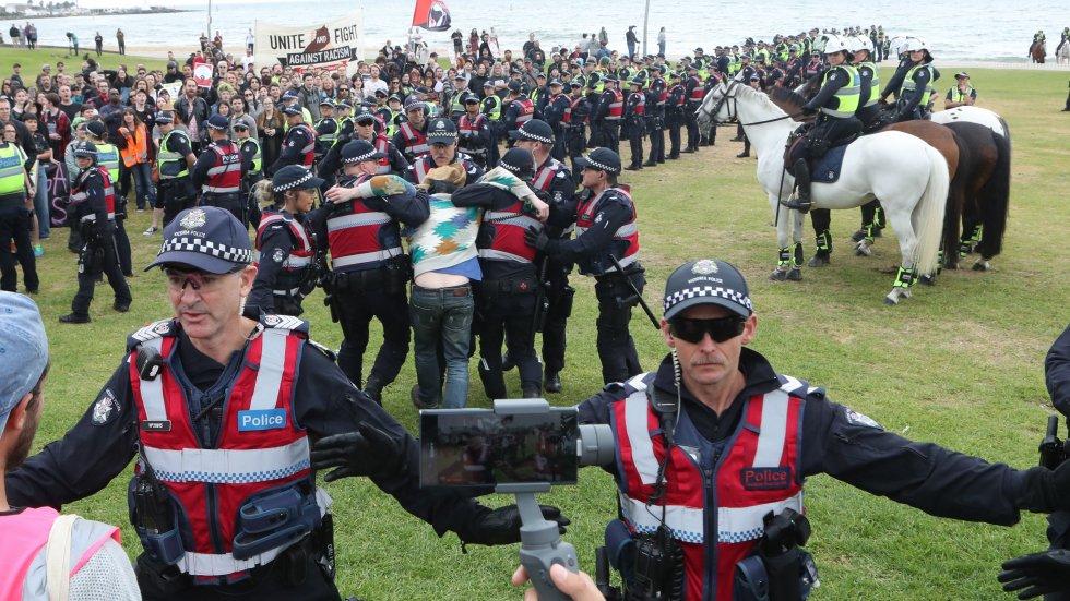 Australia PM Scott Morrison slams 'ugly racial protests' in Melbourne
