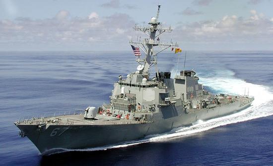 中美进行贸易谈判之际 美国军舰在南海有争议海域航行