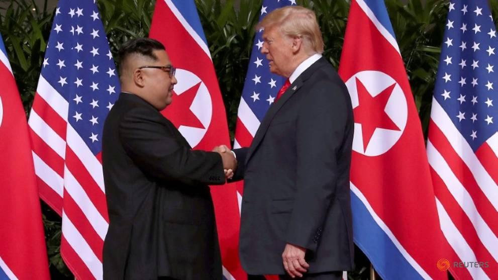 Trump says US, North Korea 'negotiating' on location for next summit