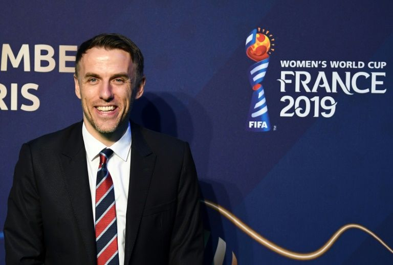 Neville says England women must earn equal pay on the pitch