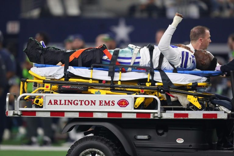 NFL receiver Hurns vows 2019 return after horror injury