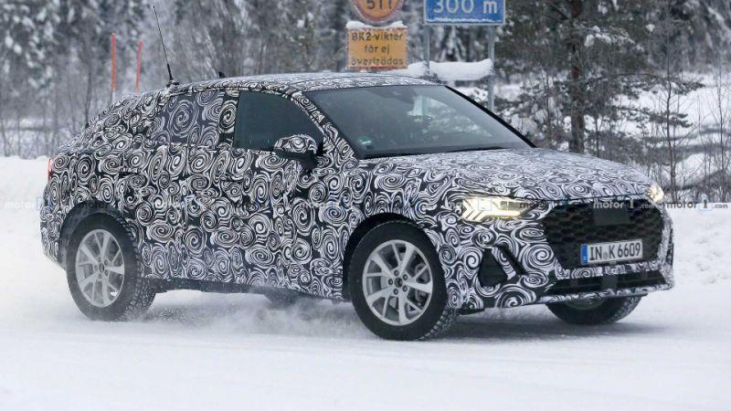 2020 Audi Q4 returns in best spy shots to date