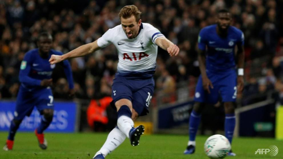 Football: Kane spot on as Spurs down Chelsea