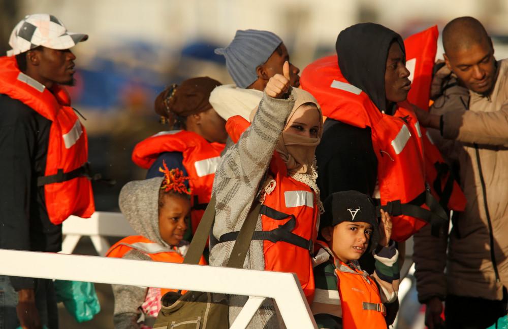 Malta lets stranded migrants disembark ahead of redistribution in EU