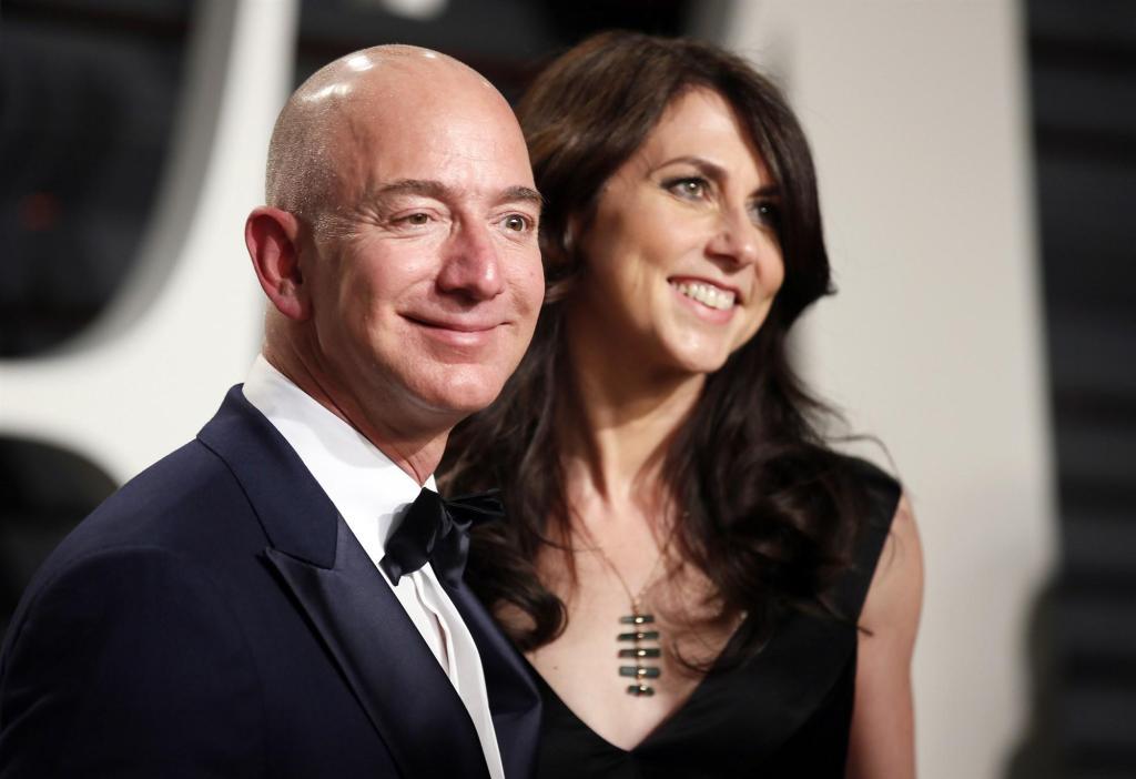 亚马逊CEO杰夫•贝佐斯宣布离婚