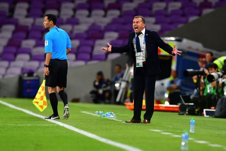 Lebanon coach slams referee after Asian Cup defeat