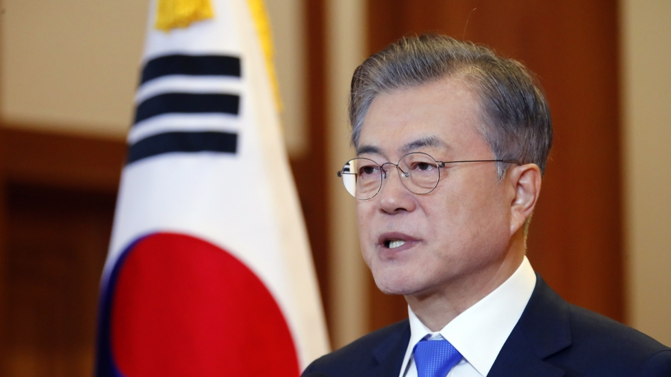 Moon Jae-in urges North Korea to take 'bold measures' to denuclearise but insists US must take 'reciprocal' steps of its own