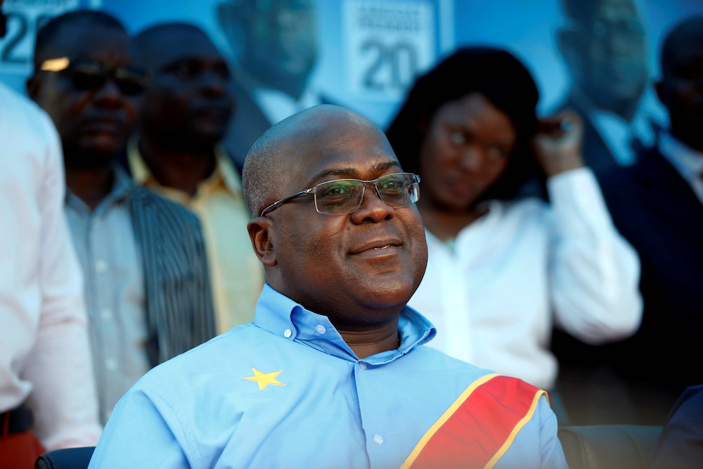 Opposition leader Felix Tshisekedi wins Congo's presidential election, says election board