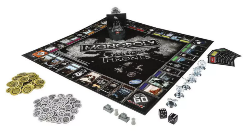 Second Edition Of 'Game Of Thrones' Monopoly Comes With Iron Throne