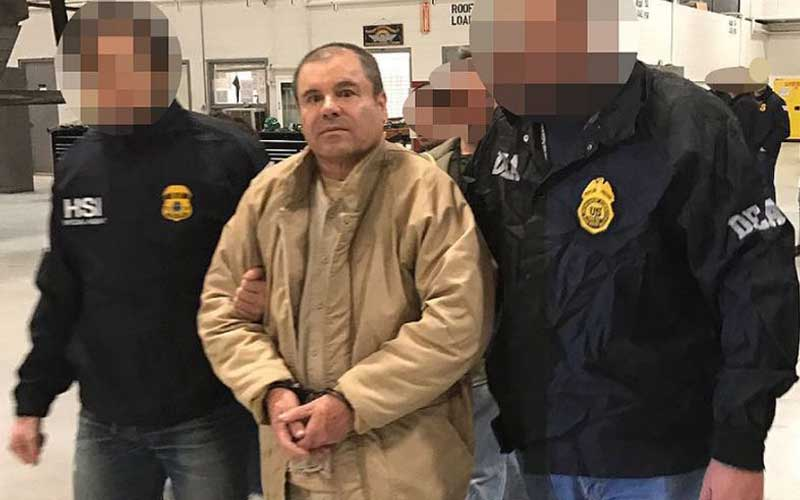Chapo's lawyers seek visa so mother can visit him in US prison