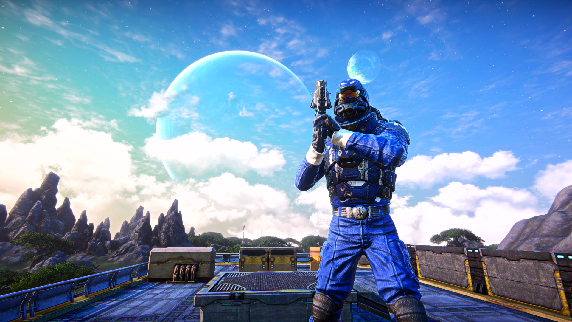 PlanetSide Arena's weapons should feel familiar to PlanetSide 2 players