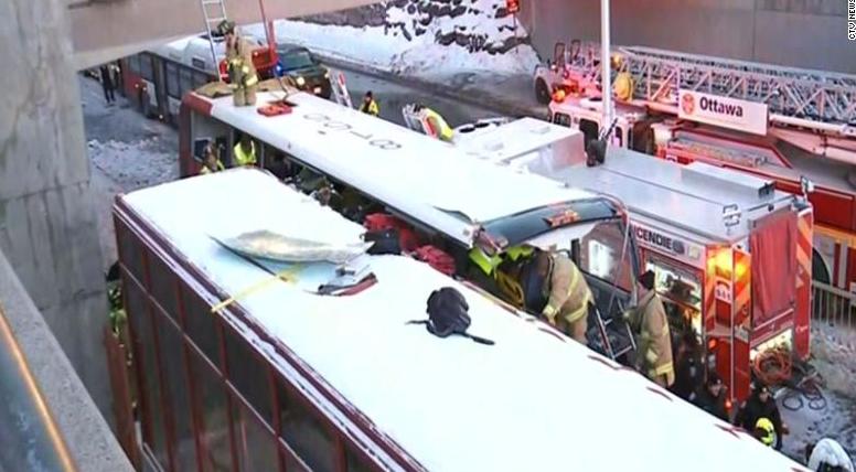 突发!加拿大渥太华交通事故已造成3死23伤