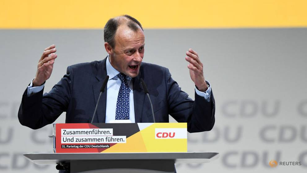 Germany's Merz contradicts CDU on new party role