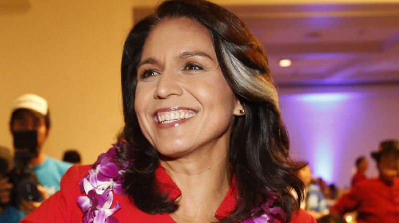 Rep. Tulsi gabbard says she will run for President in 2020