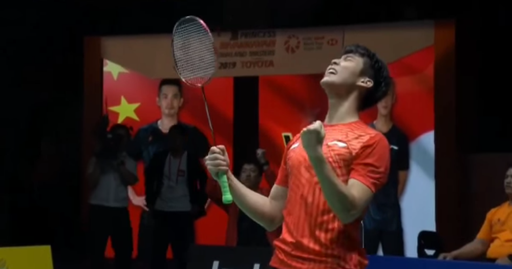 S'pore's Loh Kean Yew beats China's 2-time Olympic gold medallist Lin Dan in badminton