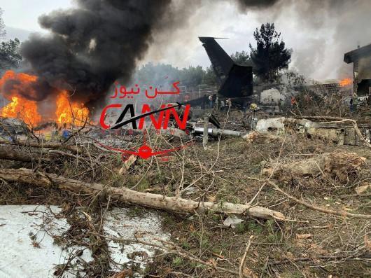 载10人波音707货机德黑兰附近坠毁 机上人员恐全部遇难