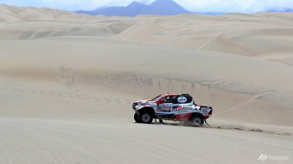 Rallying: Al-Attiyah extends Dakar lead as Loeb 'dodges bullet' to take stage