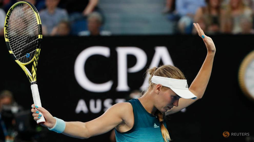 Tennis: Champion Wozniacki through to second round with comfortable win