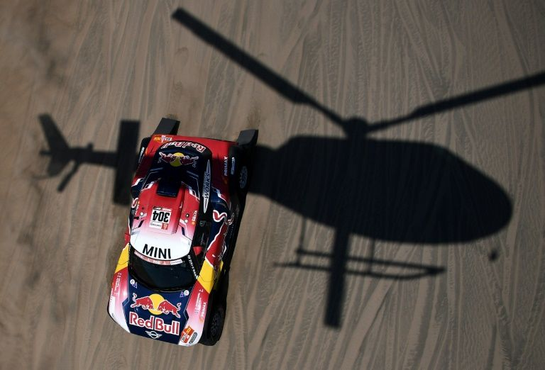 Peterhansel sees stars in 'tough' Dakar stage win