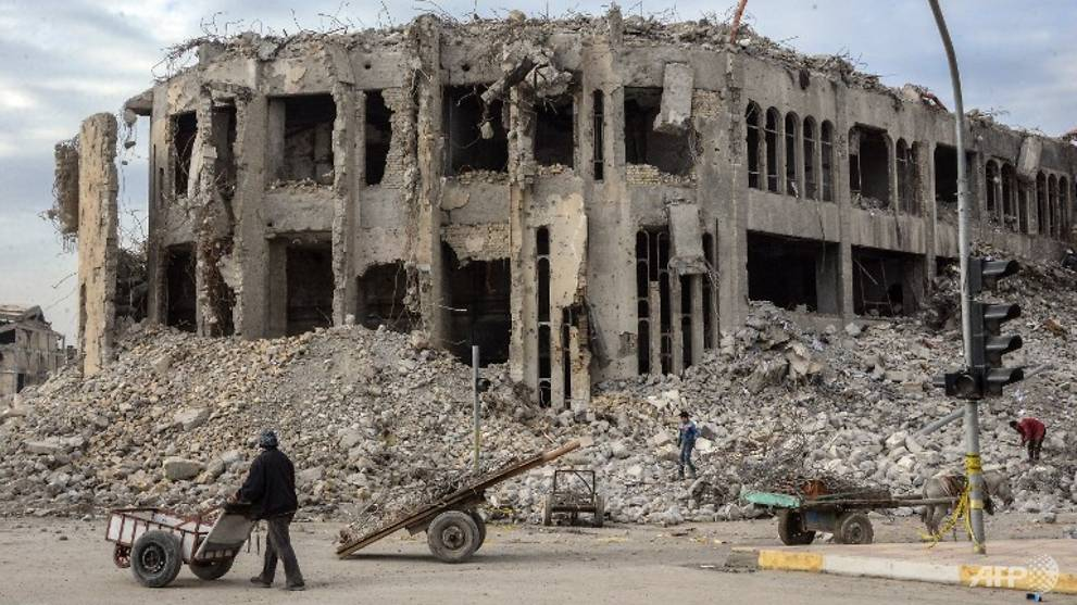 Mosul demolishes iconic building used by IS for 'gay' killings