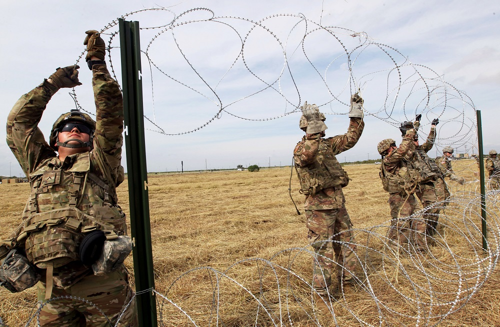 Pentagon extends mission to Mexico border through September