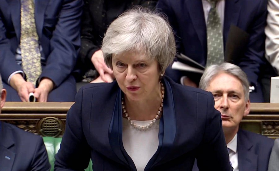 Theresa May to tweak defeated Brexit plan