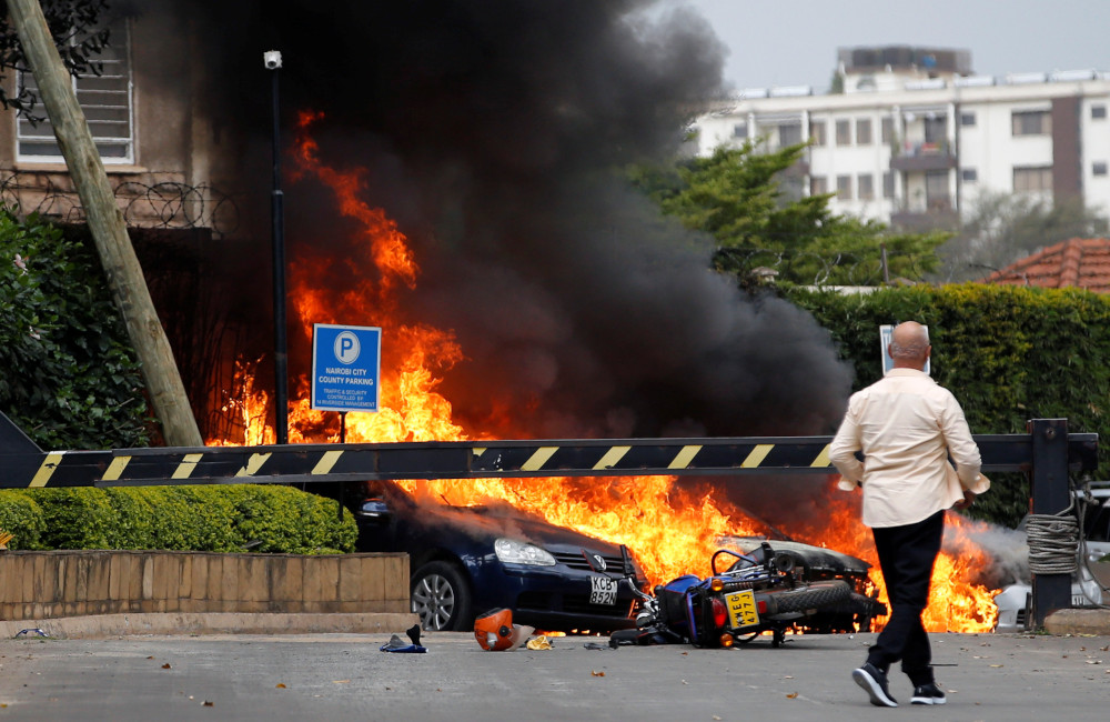 US warns of attack threat against major hotel in Nairobi