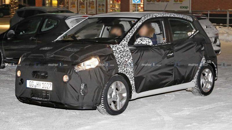 2020 Hyundai i10 makes spy photo debut