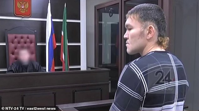 Man stabbed 13 times by his girlfriend PROPOSES to her in Russian court as she is about to be sentenced for nearly killing him