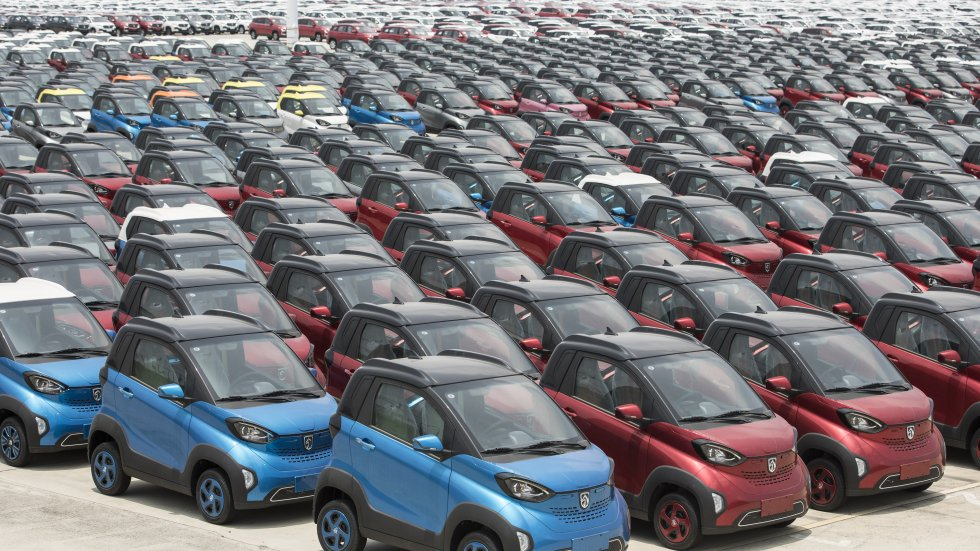 Beijing, pushing its electric vehicle market, is making it harder for start-ups to enter as it fights overcapacity