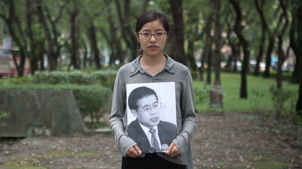 Chinese dissident's daughter 'detained and bullied' by Beijing airport security staff while en route to Canada