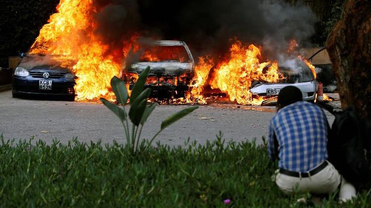 肯尼亚发生爆炸枪击事件 两被困中国公民被救出