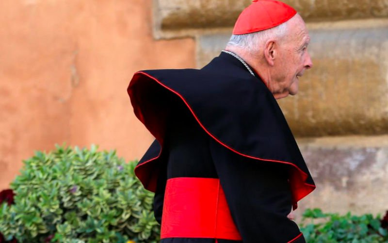 Disgraced US ex-cardinal could be defrocked soon
