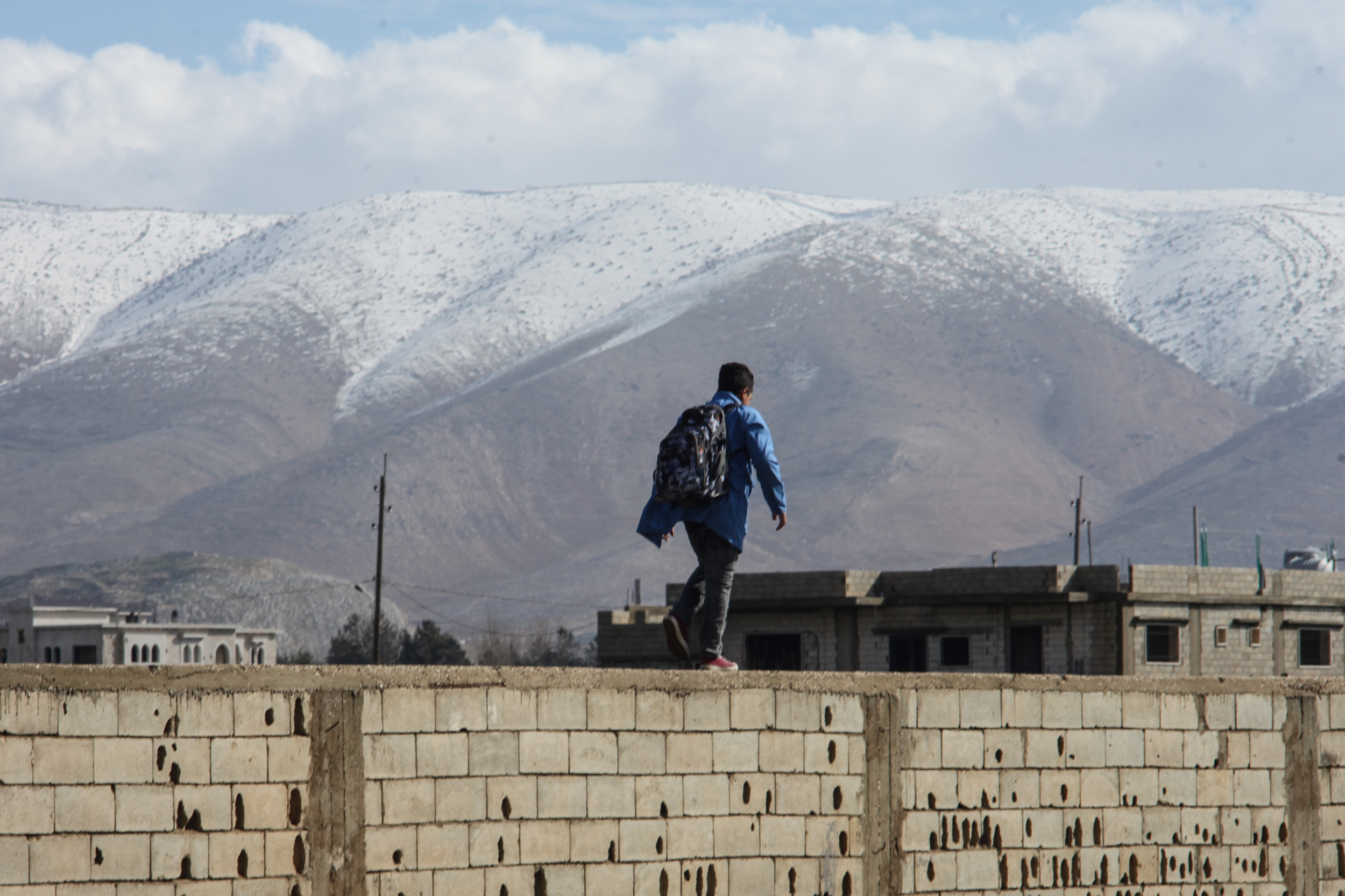 Syrian camps a flooded purgatory in Lebanon, eight years on