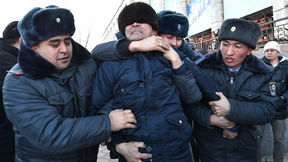 Anti-Chinese protesters arrested as police break up rally in Kyrgyzstan, where fear and anger at Beijing's influence grow