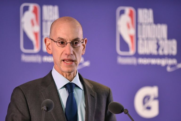 NBA chief Silver rebuffs NFL approaches: report