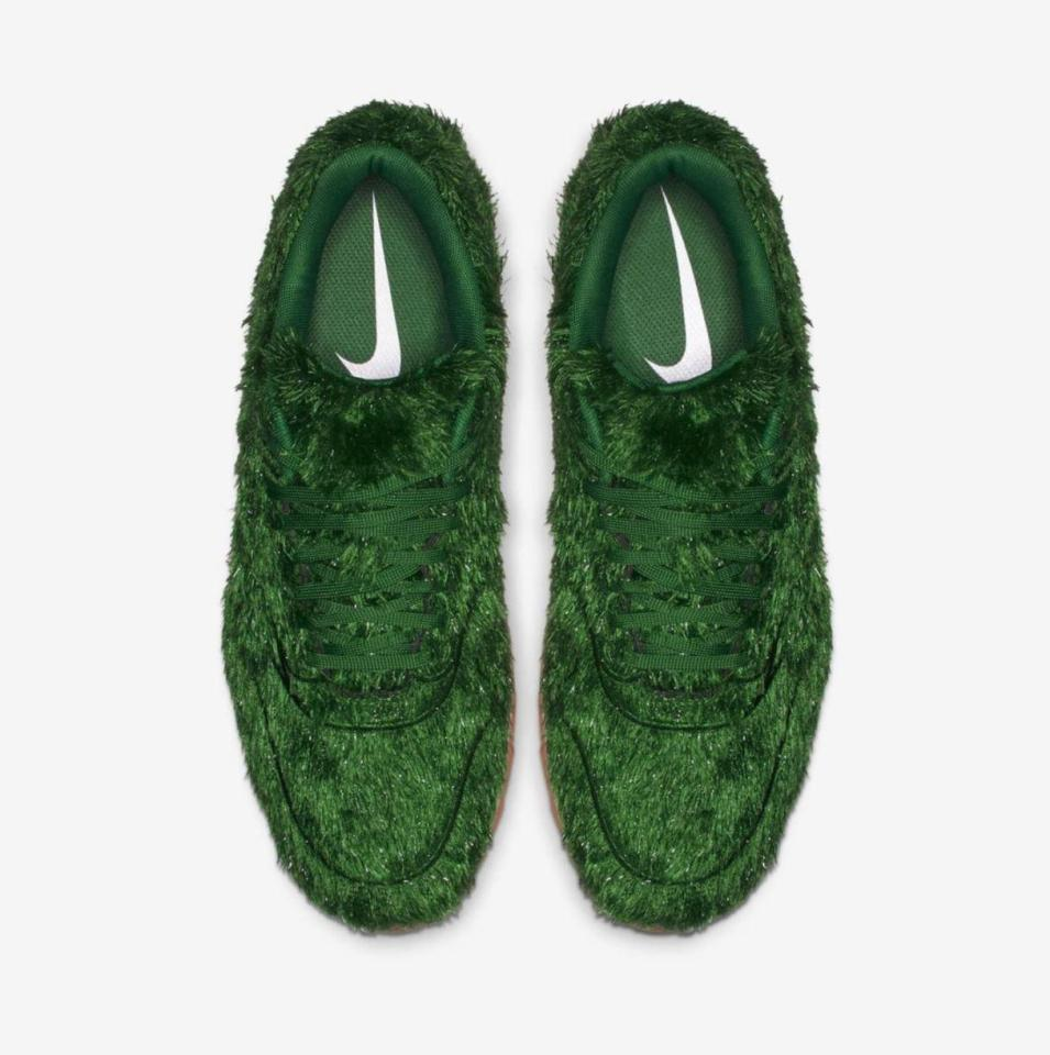 Nike Is Selling Air Max Trainers Made Of Astro Turf For £110 A Pair