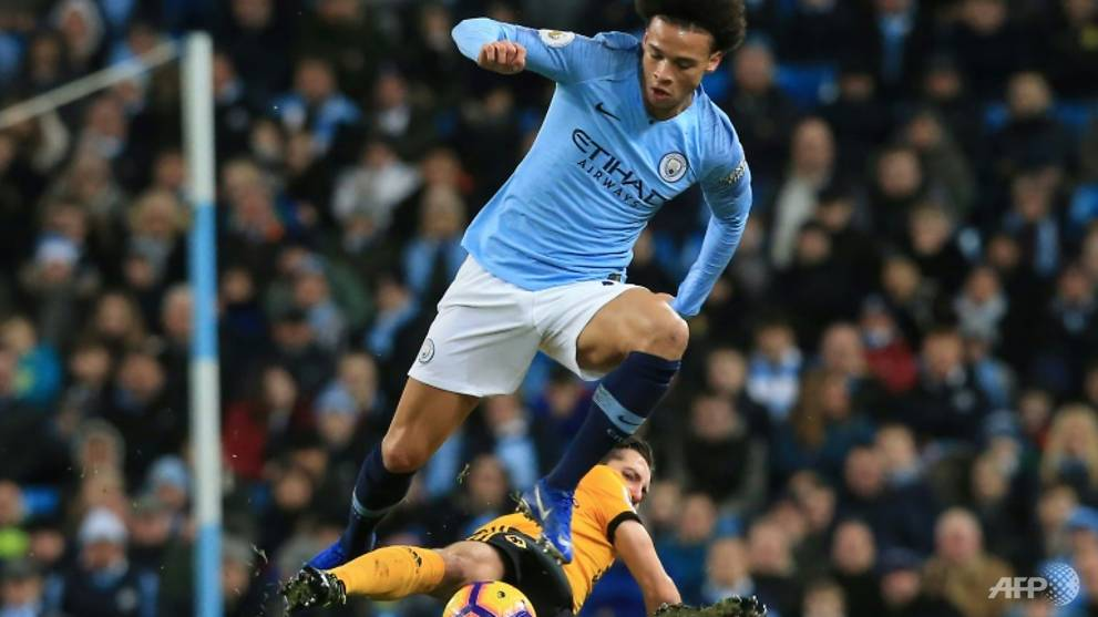 Sane can't compare to Giggs yet insists Guardiola