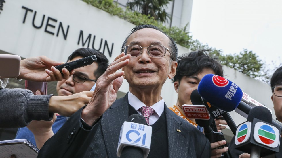 Otto Poon, husband of Hong Kong's justice chief, says wife not involved in his illegal structures case