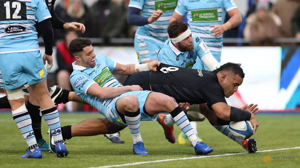 Rugby Union - Six out of six for Saracens, Racing clinch top spot
