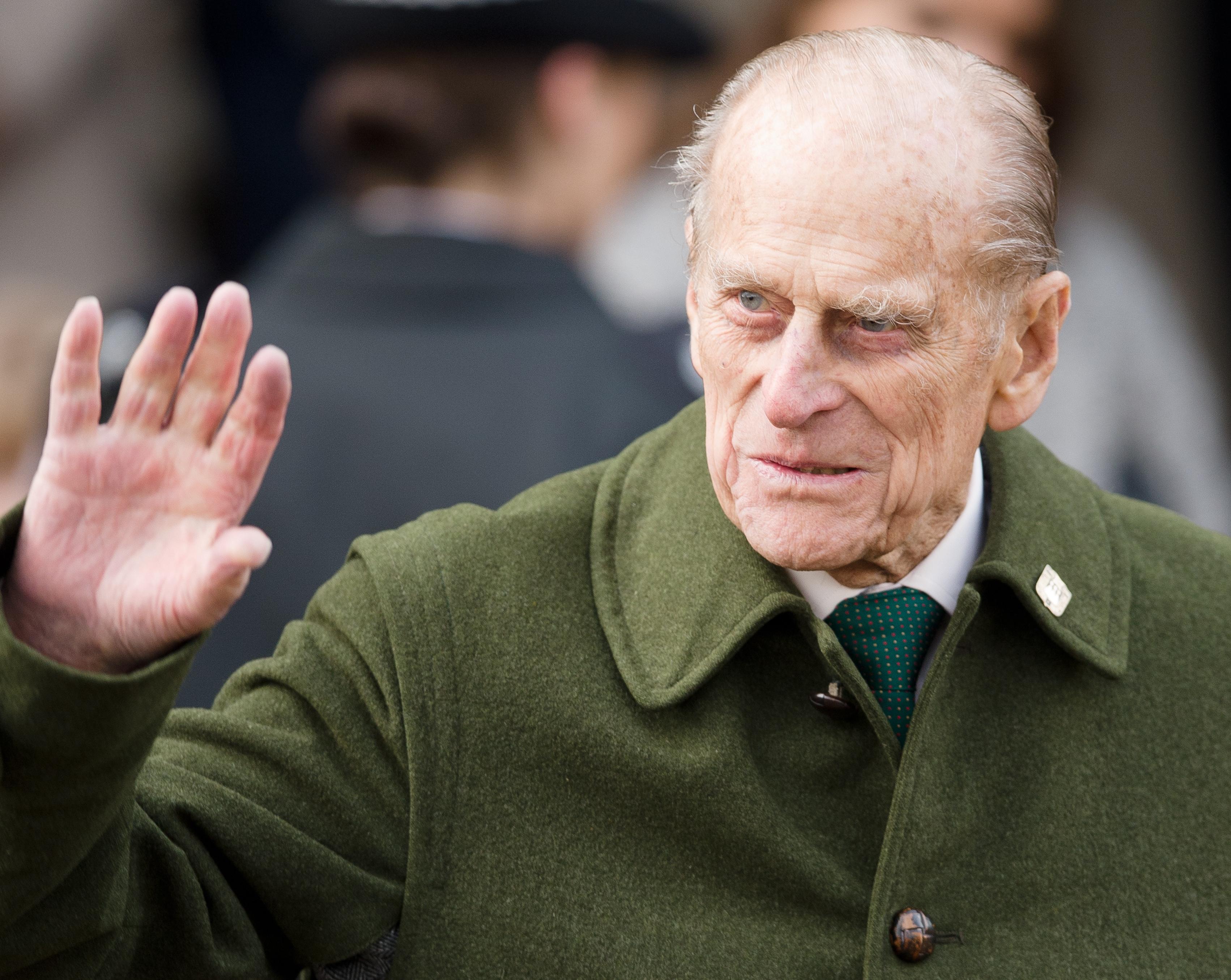 英国菲利普亲王致函 向日前在车祸受伤女子道歉