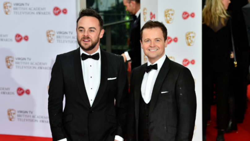 Ant McPartlin Fights Back Tears In Video Of Him Reuniting With Dec On Britain's Got Talent