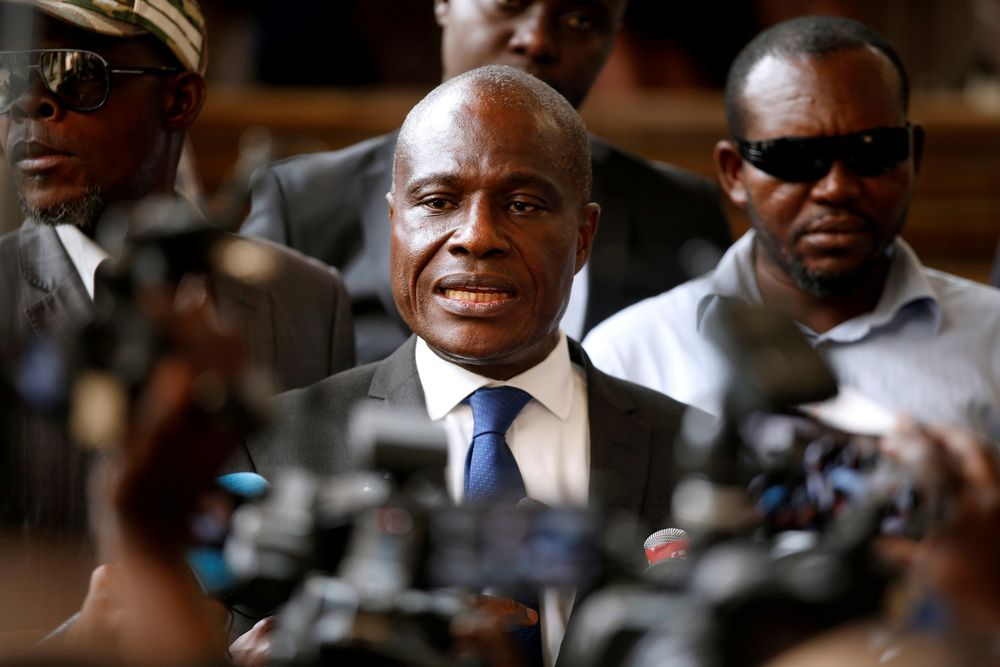 Congo opposition candidate Fayulu declares himself president