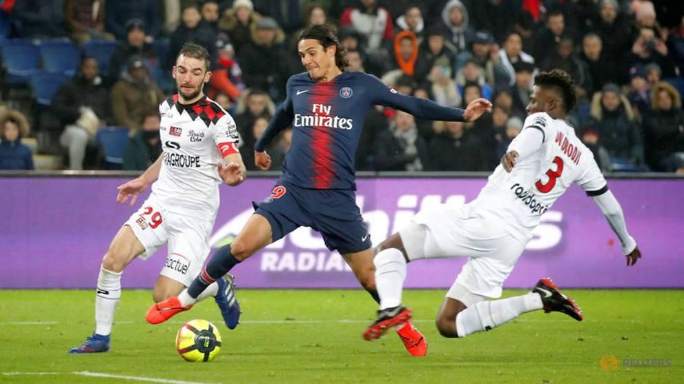 Goals galore as PSG enjoy Guingamp revenge win