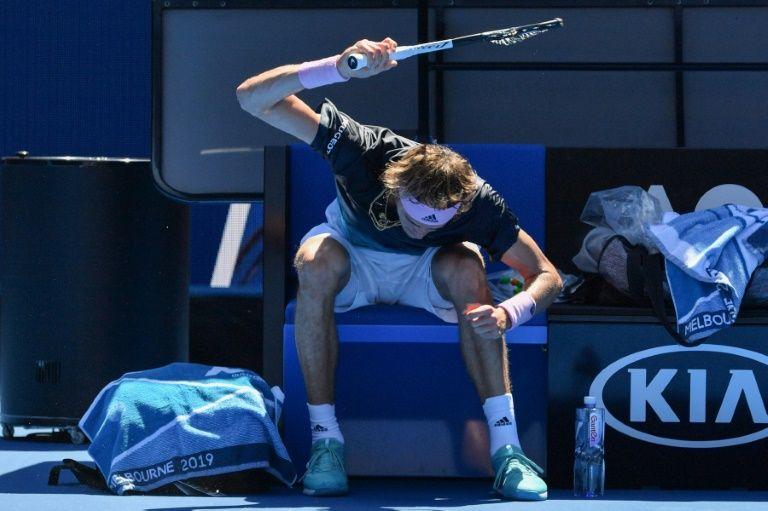 'It made me feel better' says racquet-smasher Zverev