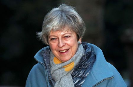 UK's May considering amending good Friday deal to break Brexit impasse - daily telegraph