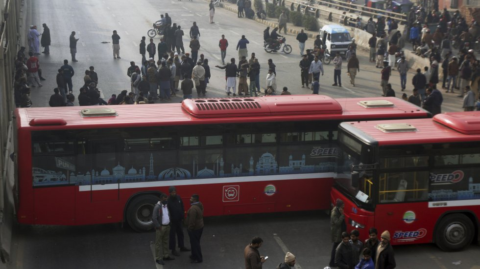 Pakistan counterterrorism officers arrested after killing family they claimed were insurgents