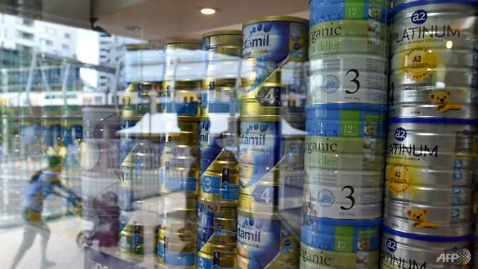 澳大利亚犯罪集团偷奶粉转卖中国 警方起获4000罐奶粉