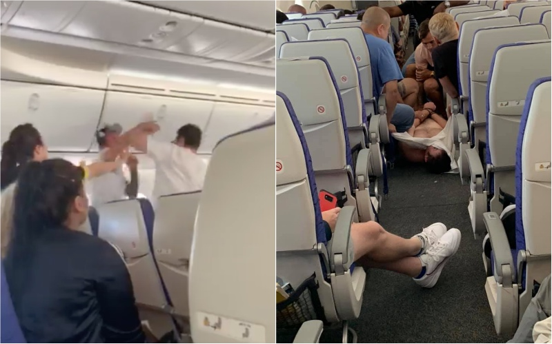 Mid-air brawl sparked by unruly passenger forces Singapore-bound Scoot flight to divert to Sydney